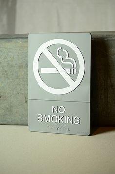 "6"" x 9"" No Smoking Sign"