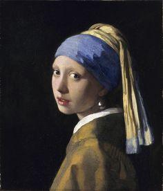 Vermeer La Jeune Fille à la Perle