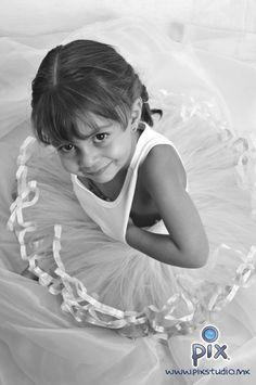fotografía, retrato, niña, ballet