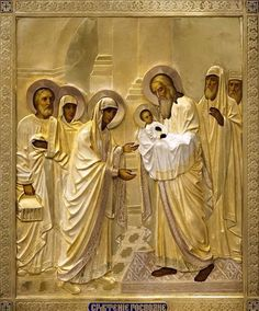 Presentation of The Lord @Alyssa Reeber here is an icon with St Simeon