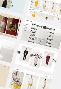 e-commerce for a french brand drôle de mosnieur