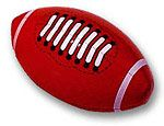 Inflatable 14 inch Footballs