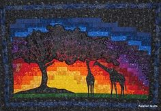 Introducing Kalarahi Quilts (Quilters, Books and Bindings) Bargello Quilt Patterns, Bargello Quilts, Quilt Block Patterns, Pattern Blocks, Quilt Blocks, Wildlife Quilts, African Quilts, African Sunset, Rabbit Art