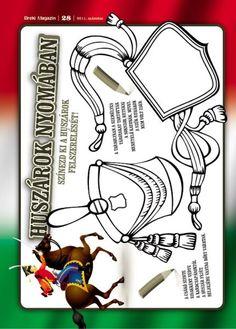 Huszár módi March, Crafts, School, Spring, Manualidades, Schools, Handmade Crafts, Arts And Crafts, Craft