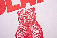 FPO: Cheeky Letterpress Prints