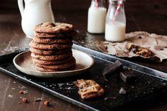 Chocolate Chunk Ginger Cookies by pastryaffair, via Flickr