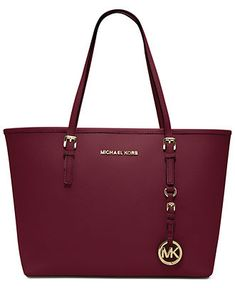 MICHAEL Michael Kors Handbag, Jet Set Travel Small Tote - Michael Kors Handbags - Handbags & Accessories - Macy's