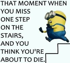 That moment when you miss 1 step....