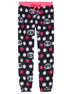 NWT Justice Girls LOL Polka Dot Peace 2pc Pajamas Sleep Set UPick Size NEW