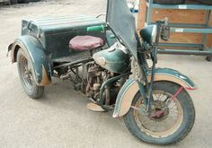 Are You Being Served? 1942 Harley Servi-Car - http://barnfinds.com/are-you-being-served-1942-harley-servi-car/