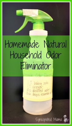 Homemade Natural Household Odor Eliminator (aka Febreeze) using essential oils Homemade Cleaning Supplies, Household Cleaning Tips, Cleaning Recipes, House Cleaning Tips, Cleaning Hacks, Household Cleaners, Teeth Cleaning, Diy Cleaners, Cleaners Homemade