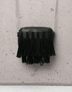 Bershka Turkey - Small multi-pompom bag