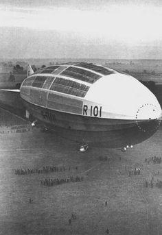 The Airship Heritage Trust : R101 Crash