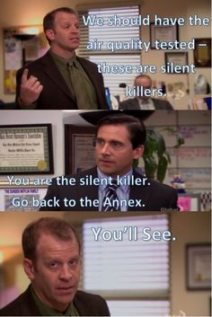 TOBY YOU ARE THE SILENT KILLER