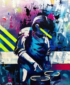 Bianca Romero Art - Marco Pierre White #biancaromeroart #biancaromeroartist #contemporaryart #mixedmediaart #collageart #streetartist #streetartistnyc #artforsale #custompainting #artcollectors Marco Pierre White, Nyc, Painting On Wood, Master Chief, Paintings, Instagram, Artwork, Fictional Characters, Work Of Art