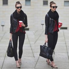 Image via We Heart It https://weheartit.com/entry/152388782 #cool #girl #leopard #sylish