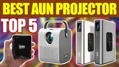 Top 5 Best AUN Projector Review in 2021 Projector Reviews, Portable Projector, Gadget, Tech, Electronics, Gadgets, Technology, Consumer Electronics