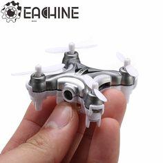 Eachine E10C Mini with 2MP Camera 2.4G 4CH 6 Axis RC Quadcopter RTF Sale - Banggood.com