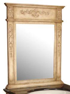 Astoria Grand Gilkey Carved Mirror | Wayfair 24 Inch Bathroom Vanity, Wedding Mirror, Mirrors Wayfair, Floor Mirror, Verona, Oversized Mirror, Decorative Pillows, Décor Pillows, New Homes