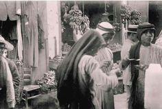 من سوق بيسان - فلسطين 1934م  From the market beisan - Palestine 1934 m