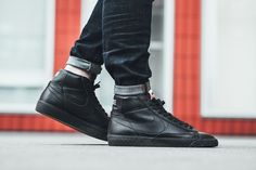 "Nike Blazer Mid Premium 09 ""Black/White/Gum Light Brown"""