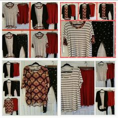 LuLaRoe-To/Go-To Mini Capsule Wardrobe. 5 piece, options for all seasons