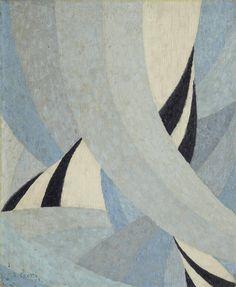 thunderstruck9:  Jean-Joseph Crotti (Swiss, 1878-1958), Femme pareé, 1915. Oil on canvas, 56 x 46 cm.