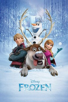 Frozen - movie poster<----  I watched this movie finally and fell in love with it! Lovely movie with loveable characters!!