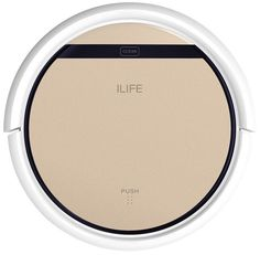 ILIFE V5 Pro Robotic Vacuum Cleaner Intelligent Automatic Cordless Dry Wet - US  #ILIFE