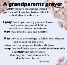 For my grandchildren. Love you all very much.