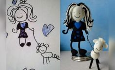children's drawings become stuffed toys - Google 検索