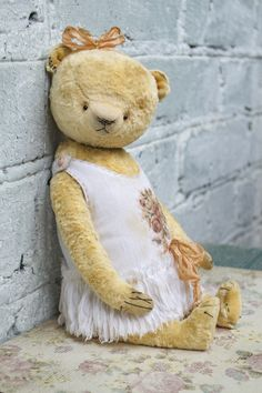 OOAK artist teddy bear collectible bear plush teddy bear