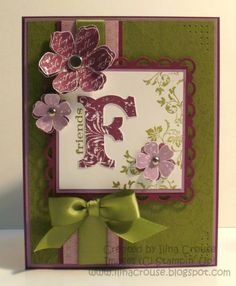 Friend by ilinacrouse - Cards and Paper Crafts at Splitcoaststampers