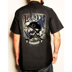 Men's Workshirts - Punk, Rockabilly, and Greaser Work Shirts For Men