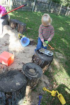 mud muffins... cool sandbox.