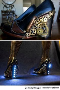 Awesome Steampunk Heels