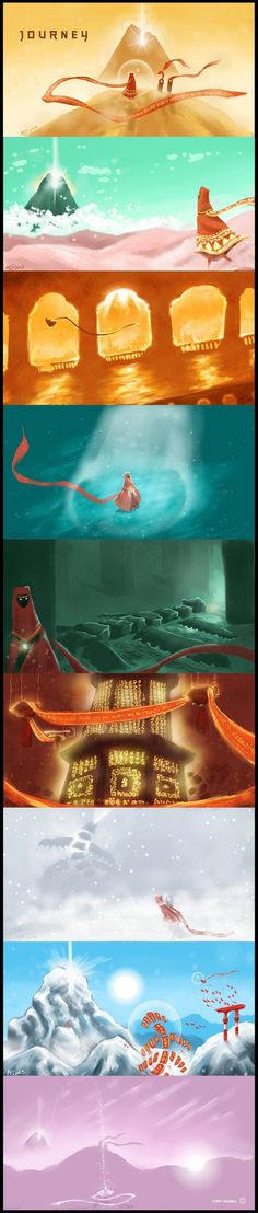 My Journey - Journey fan art<<<< THE MANY BEAUTIFUL STAGES OF THIS PERSON'S JOURNEY
