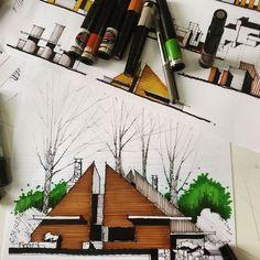 #آموزش_اسکیس  Elevation design....  never use the ruler!  #آموزش_اسکیس #دست_آزاد #اسکیس #راندو #معماری #طراحی_معماری  #sketch_arq #sketch#line #art  #artist #design #designer  #drawing #sketching #nationalart #arts_help  #art #desing #desings #real #drawings #drawing #photography #colors  #painting #illustration  #sketching #instaartist #gallery #instaartist #instagramartist #artevm#m_ansari
