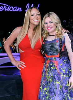 Mariah and Kelly Clarkson: Divas unite!