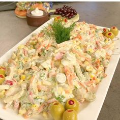 Good evening im I have such a delicious salad that is so delicious that you can't eat yem - Dinner Recipe Meat Recipes, Salad Recipes, Dinner Recipes, Turkish Recipes, Ethnic Recipes, Salad Bar, Bon Appetit, Pasta Salad, Potato Salad
