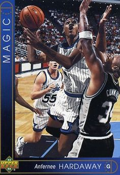 RARE ROOKIE 93-94 UPPER DECK JUMBO ANFERNEE HARDAWAY ORLANDO MAGIC MINT