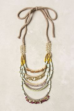 Wasn't sure when I ordered it but i love it, so different.  La Jolla Necklace - Anthropologie.com
