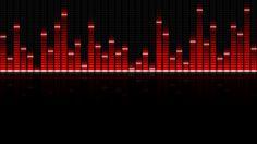 Red Equalizer By Pixzeto On Deviantart