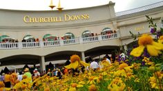 The Kentucky Derby at Churchill Downs in Louisville! Check