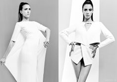 """Rise"" for Fashionising.com by Gonçalo M. Catarino, via Behance"