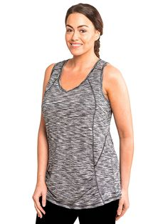 49ae34b8c9a45 27 Amazon.com  RBX Active Women s Plus Size Activewear Deep V-Neck Tank