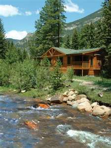 Perfect mountain cabin in Estes Park, Colorado - many to chose from on http://www.vrbo.com/vacation-rentals/usa/colorado/front-range/estes-park