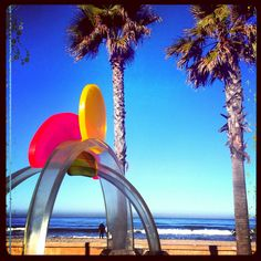 Blue skies #missionbeach #sandiego #sachinsworld