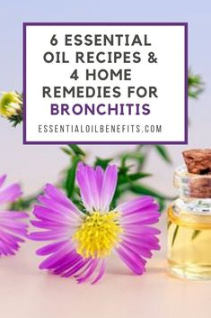 6 essential oil recipes and 4 home remedies for bronchitis. 6 essential oil recipes and 4 home remedies for bronchitis. Home Remedies For Bronchitis, Natural Asthma Remedies, Ayurvedic Remedies, Health Remedies, Natural Cures, Natural Health, Cold Remedies, Essential Oil For Bronchitis, Diffuser