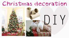 DIY: Decorazioni per Albero di Natale con rotoli carta igienica http://www.youtube.com/watch?v=nwBVk3IN-sE